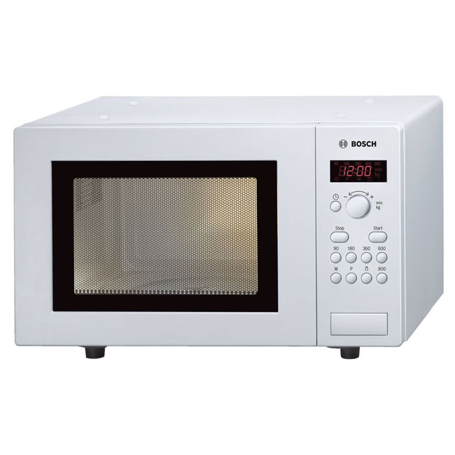 Bosch HMT75M421B Compact Microwave Oven 17 Litre White