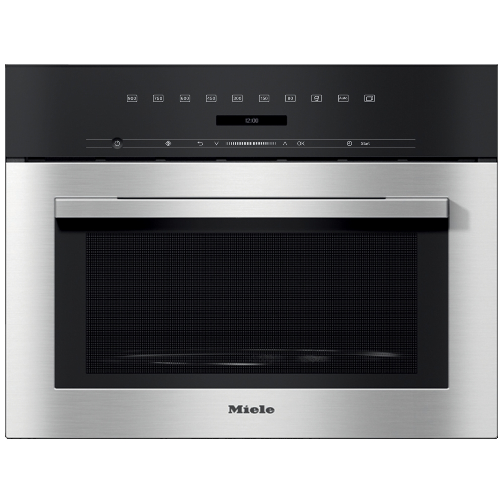 Miele M7140TC ContourLine Built In Microwave - STAINLESS STEEL
