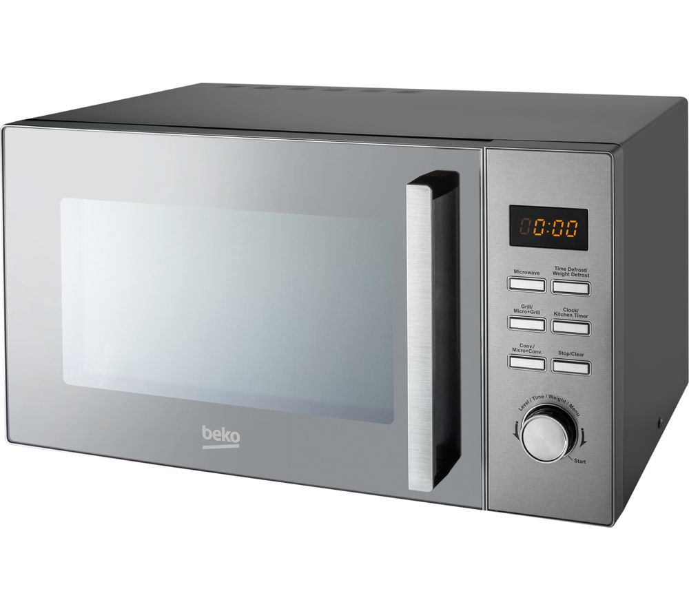 BEKO MCF28310X Compact Combination Microwave - Stainless Steel, Stainless Steel